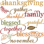 On Thanksgiving we give THANKS to YOU for your BUSINESS!